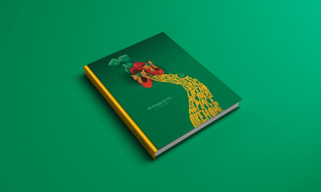 Portada Libro Mago de Oz ilustración