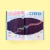 Infographics Colisiones Divinas for Principia Magazine Cover