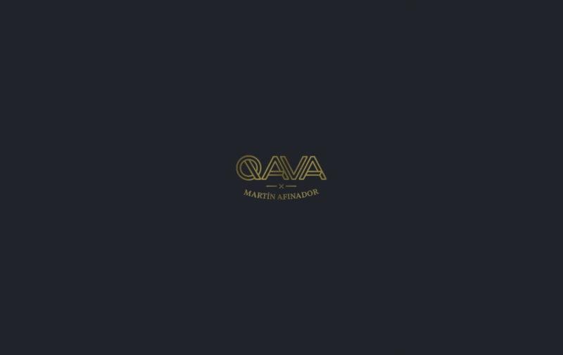 QAVA x Martín Afinador logotipo oro